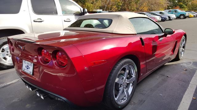 2008 Corvette Convertible - Crystal Red Metallic