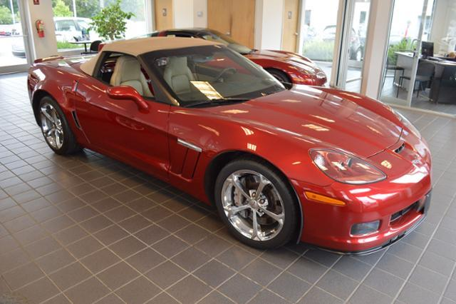 2011 Chevrolet Corvette Convertible Grand Sport 3LT