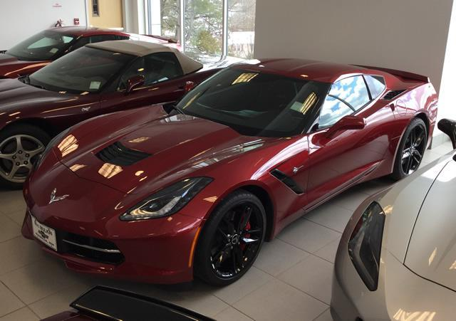 2014 Chevrolet Corvette Stingray Coupe Z51 1LT
