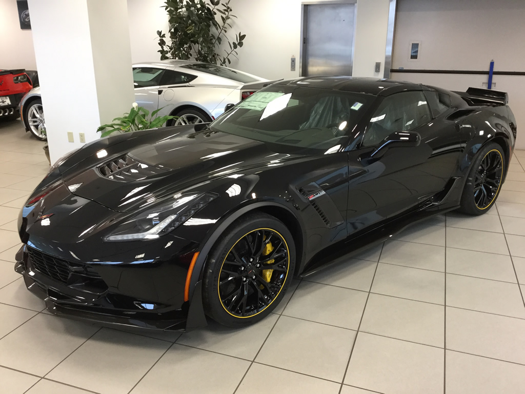 just arrived 2016 corvette z06 c7r special edition coupe 567 macmulkin corvette 2nd. Black Bedroom Furniture Sets. Home Design Ideas