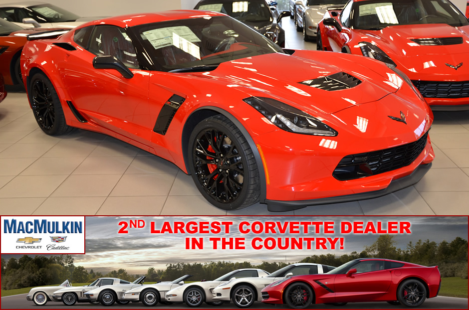 2016 Corvette Z06 Allocation at MacMulkin Chevrolet