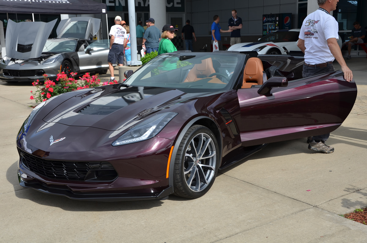 2017 Corvette Grand Sport Black Rose Metallic 1