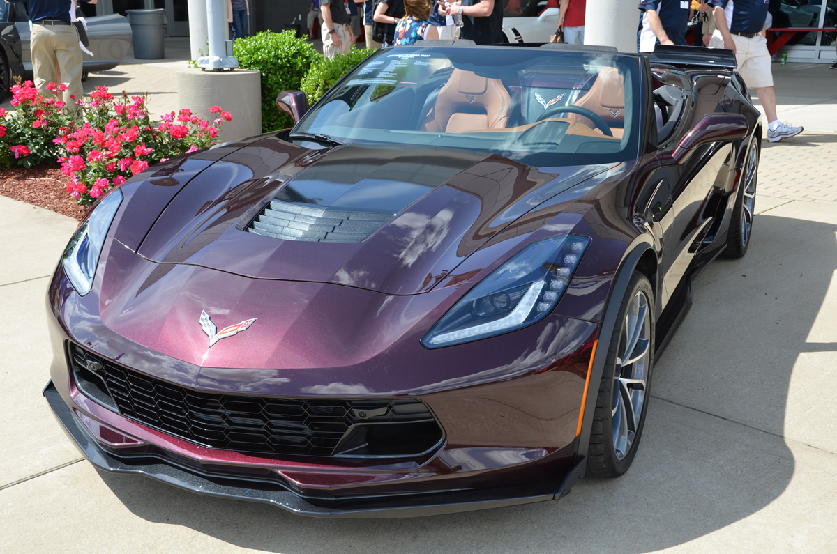 2017 Corvette Grand Sport in Black Rose Metallic - MacMulkin Corvette ...