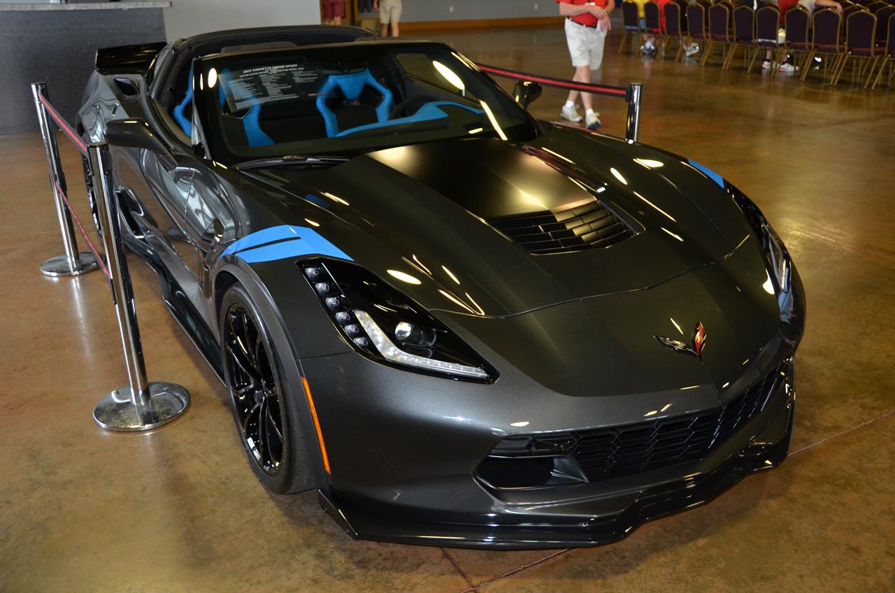 2017 corvette grand sport collector edition in watkins glen gray