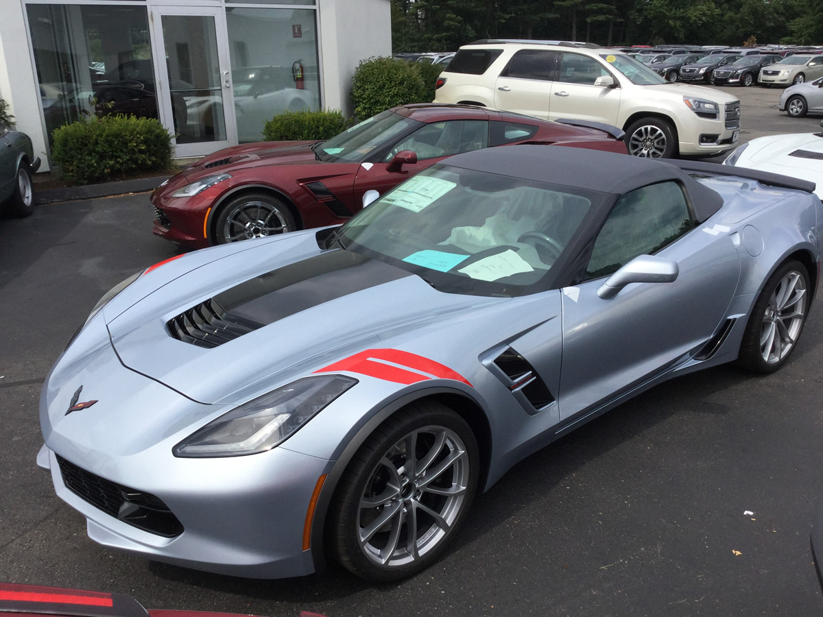 Second Delivery 2017 Corvette Grand Sports Macmulkin