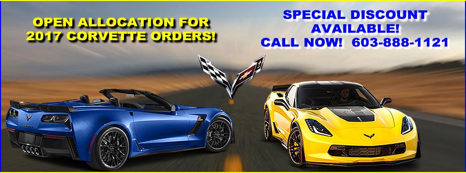 Open allocation for 2017 Corvettes!
