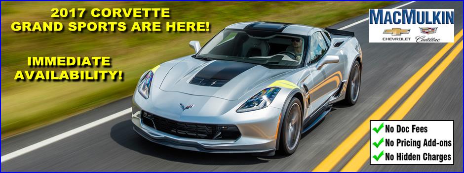 2017 Corvette Grand Sports Are Here!