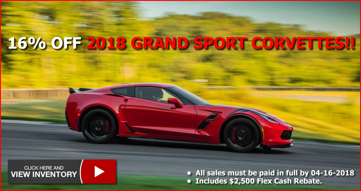 2018 Corvette Grand Sport Sale at MacMulkin Chevrolet